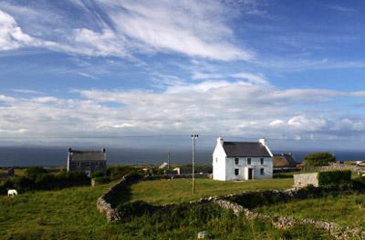 Ireland-Aran Islands: Farmhouse