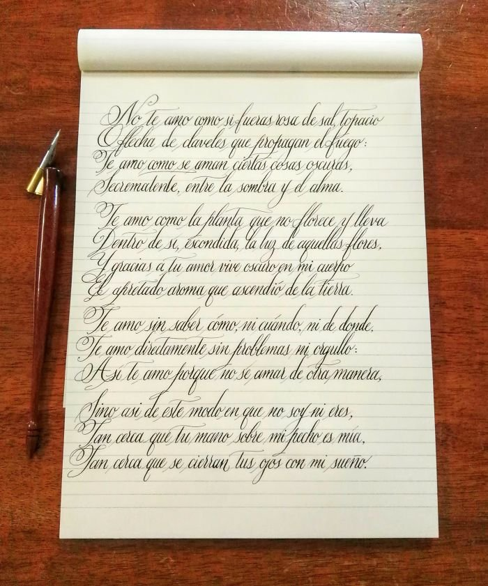 La Plus Belle écriture Du Monde : belle, écriture, monde, Exemples, D'écritures, Vraiment, Parfaites, étaient, Belles, être, Partagées., Vonjour