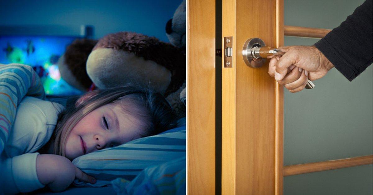 sleeping.png?resize=1200,630 - Un pompier avertit les parents de ne jamais laisser la porte de la chambre de leurs enfants ouverte la nuit