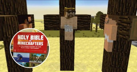 Church Buys Minecraft Themed Bibles For Schools to Get Children Into Jesus Small Joys