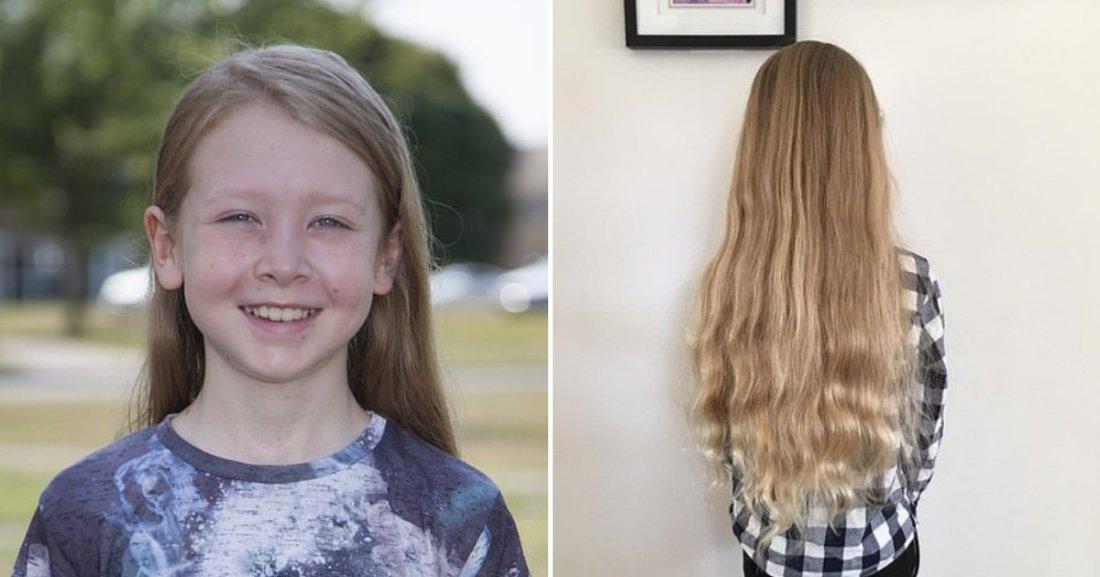alfie7.png?resize=1200,630 - Un garçon qui n'avait jamais coupé ses cheveux a été prié de passer chez le coiffeur pour pouvoir aller au lycée