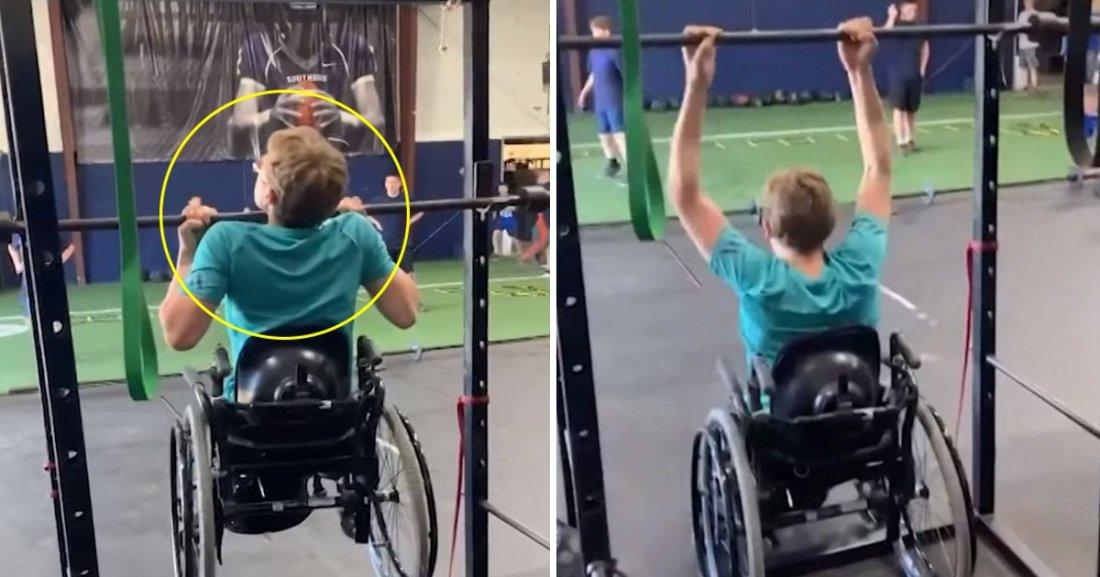 ghhhhsss.jpg?resize=1200,630 - Ce jeune homme en fauteuil roulant a établi un record formidable en salle de sport