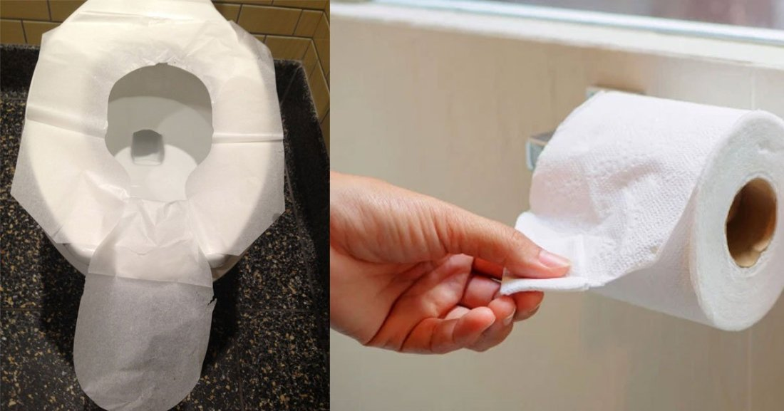 reasons why you should not cover the toilet seat with toilet paper in public restrooms.jpg?resize=1200,630 - Couvrir le siège des toilettes publiques avec du papier ne les rend pas plus propre