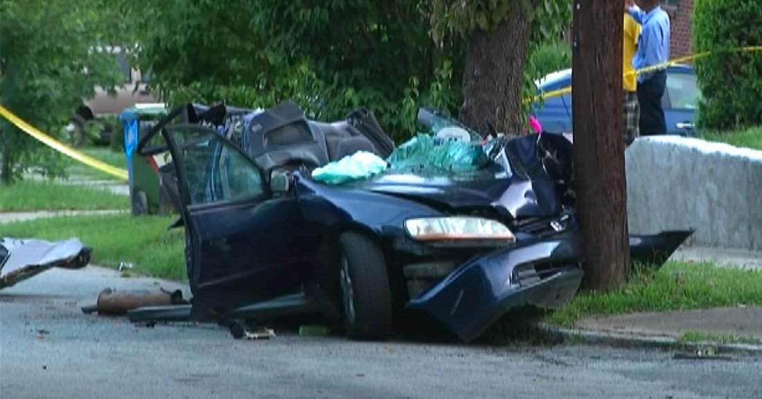 crash.png?resize=1200,630 - Une Américaine a percuté délibérément la voiture de son mari provoquant la mort de son bébé de 3 mois