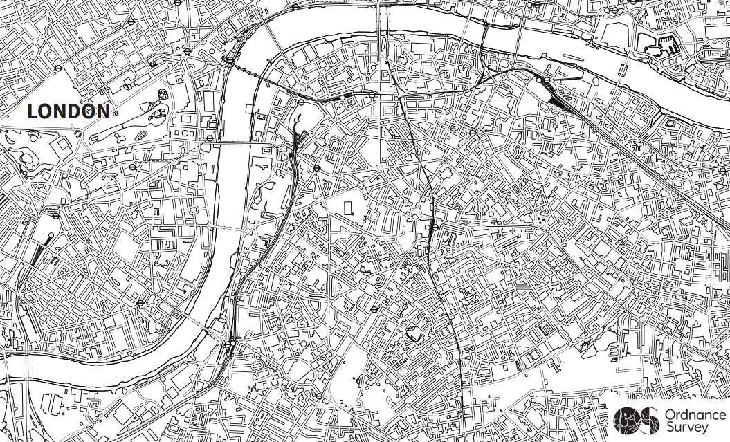 Ordnance Survey Blog Maps Adult Colouring In No
