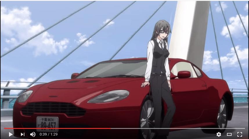 Girl Driving Car Wallpapers Oregairu In The Opening Scene Why Does Hiratsuka Sensei