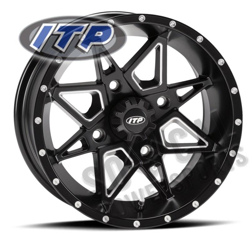Itp Storm Wheel 14x7 4 156 Tornado Blk