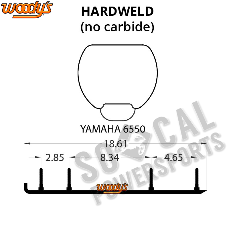 Woody's Hardweld Top-Stock Yamaha Mountain Max 700 (2000