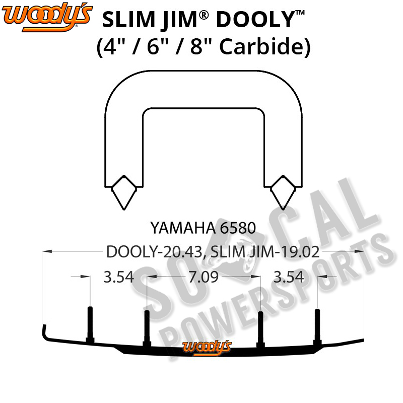 Woody's Slim Jim Dooly 6.0