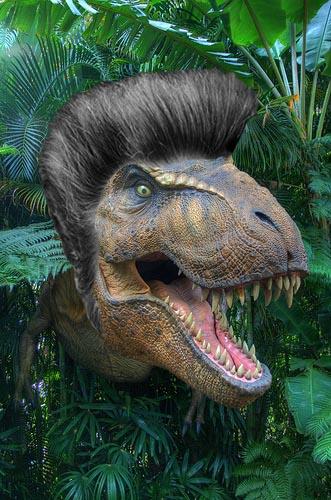 Dinos with Hairdos