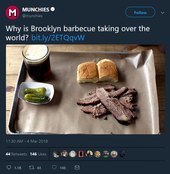 why is brooklyn barbeque