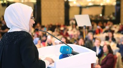 Emine Erdoğan: Harem bir okuldur