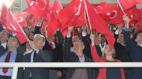 CHP'liler İzmir'de 'Hayır' için buluştu