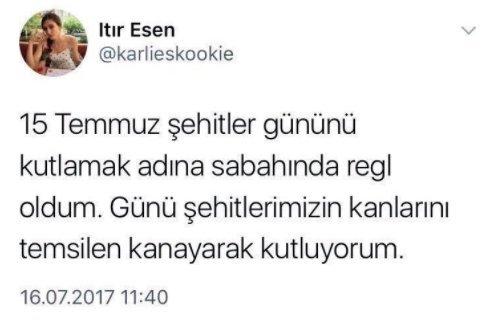 Бывшая «Мисс Турция» оказалась под угрозой тюремного срока зазапись втвиттере