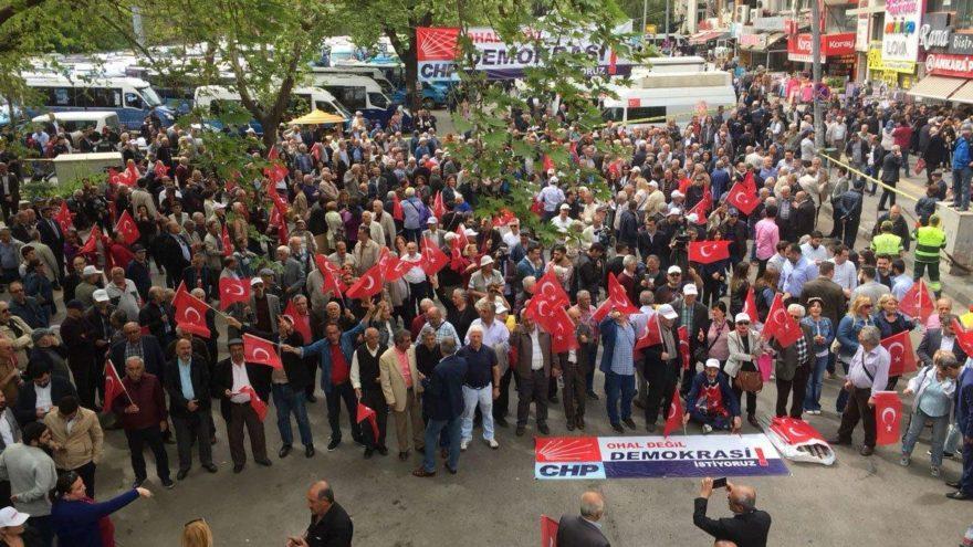 Ankara'daki OHAL eylemi bitti!
