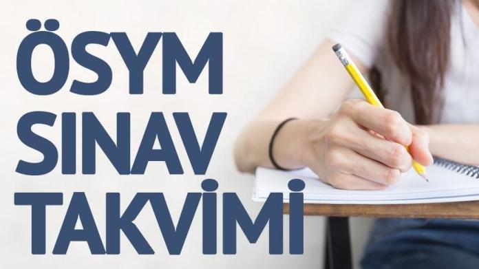 ÖSYM sınav takvimi: KPSS, DGS, YKS ne zaman? ÖSYM sınav takvimini yayınladı...