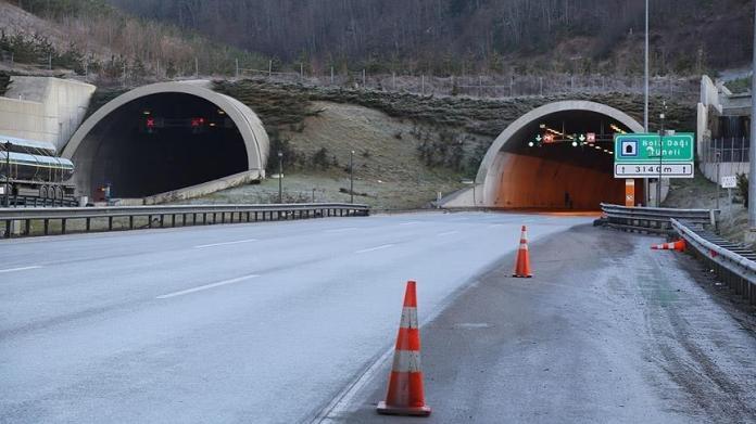 Bolu Dağı Tüneli'nin Ankara yönü 20 gün ulaşıma kapanacak
