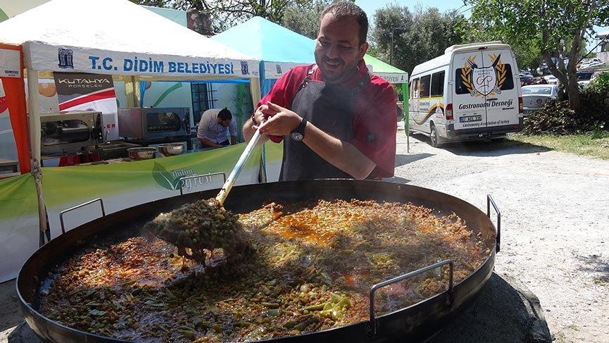 Didim'de Vegan Festivali renkli görüntülerle başladı
