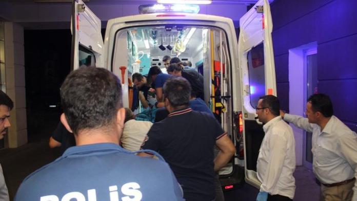 Polis aracına silahlı saldırı! Bir ağır yaralı