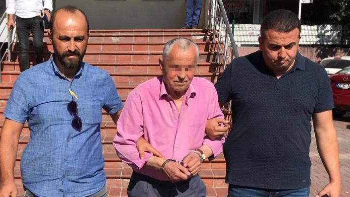 85 yaşında cinsel istismardan tutuklandı!
