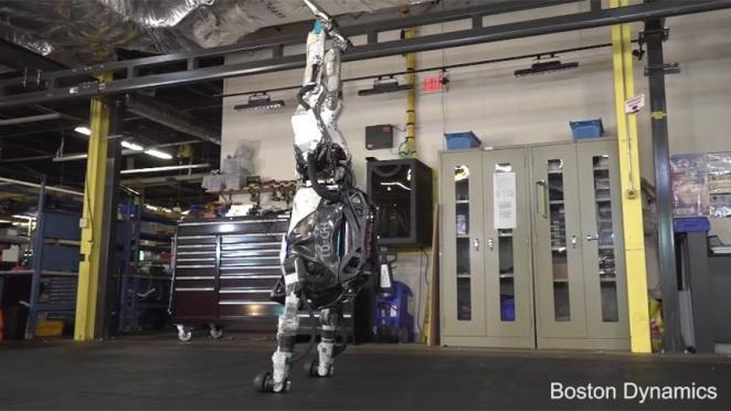 Boston Dynamics'in yeni robotu görenleri şaşkına çevirdi!
