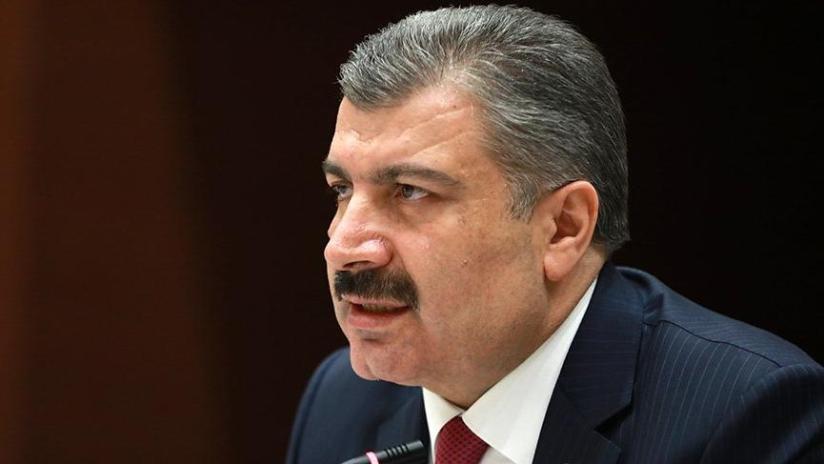 Last minute ... Husband Minister, announced the new coronavirus cases in Turkey