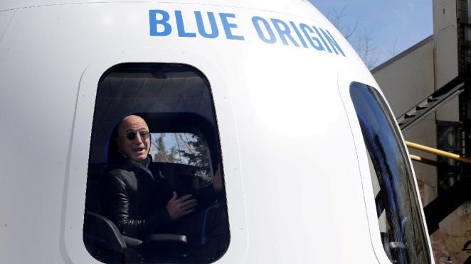 Blue Origin ile uzaya gitmek için 2.8 milyon dolar teklif geldi