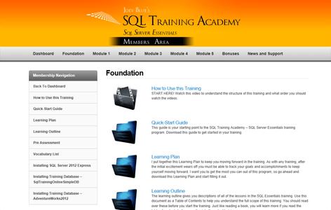 SQL Training Academy's SQL Server Essentials