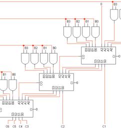 4 by 4 bit multiplier logisim help [ 1762 x 1158 Pixel ]
