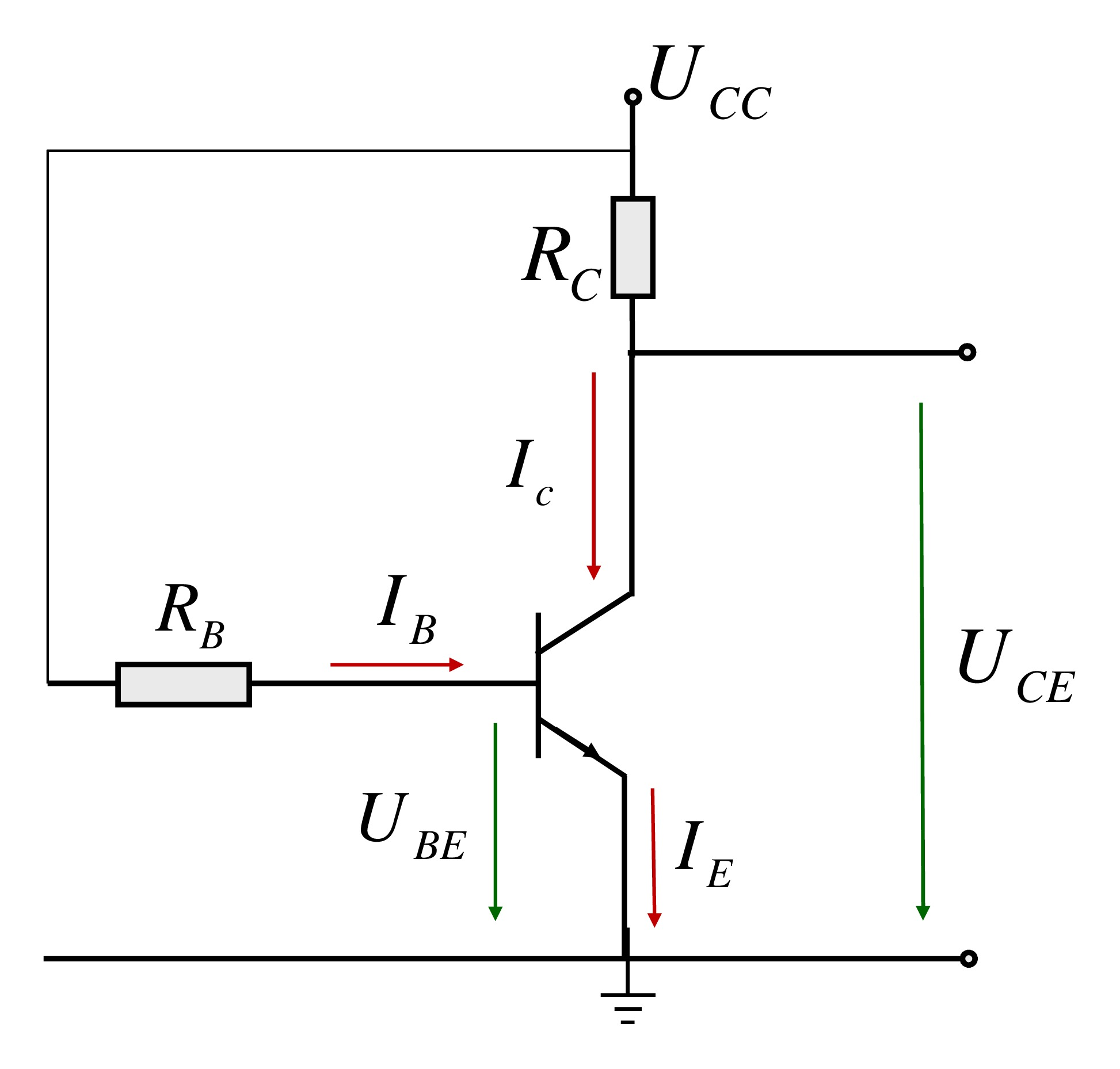 hight resolution of bjt circuit