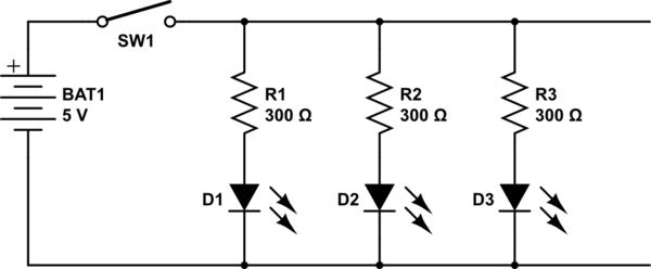 Simple Led Circuit Diagram ~ DIAGRAM