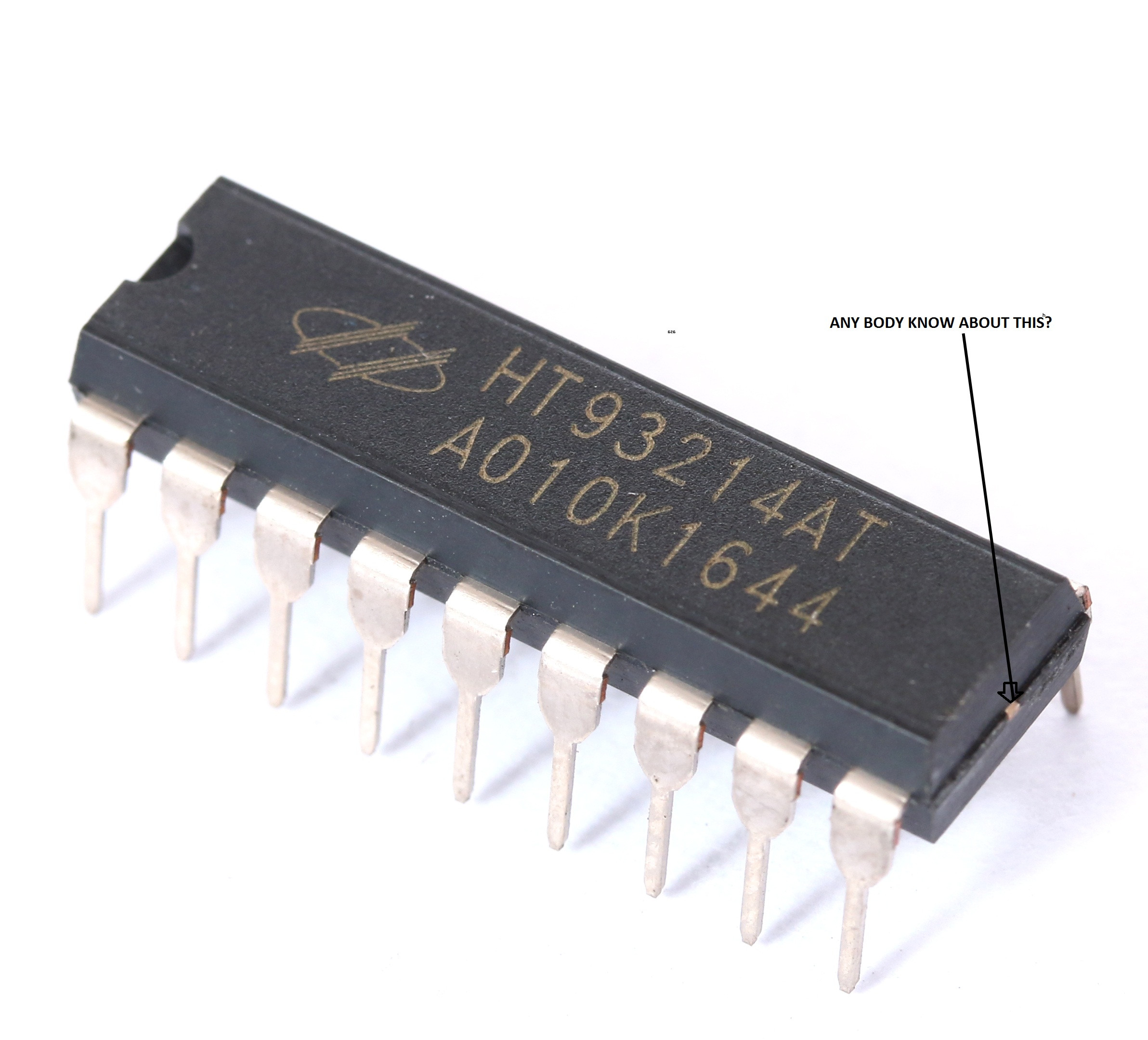 Smallest Integrated Circuit