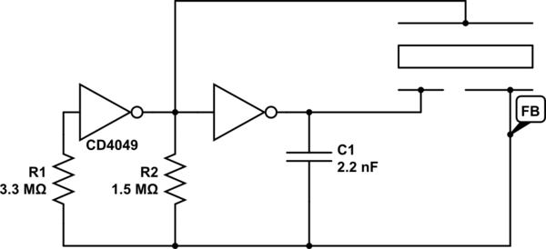 circuit piezoelectric sensor electrical engineering stack exchange