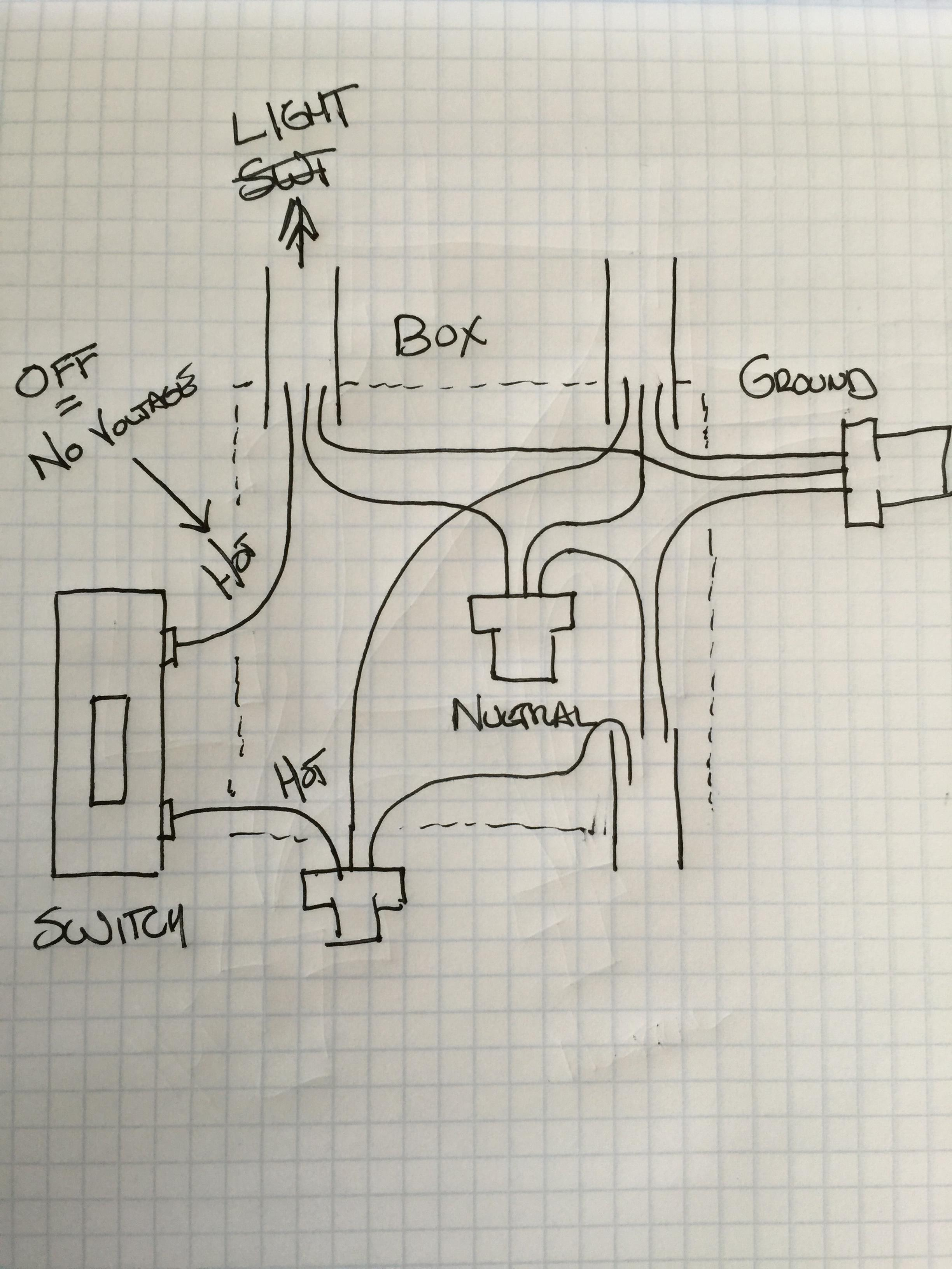 Wiring Diagram For A Double Light Switch