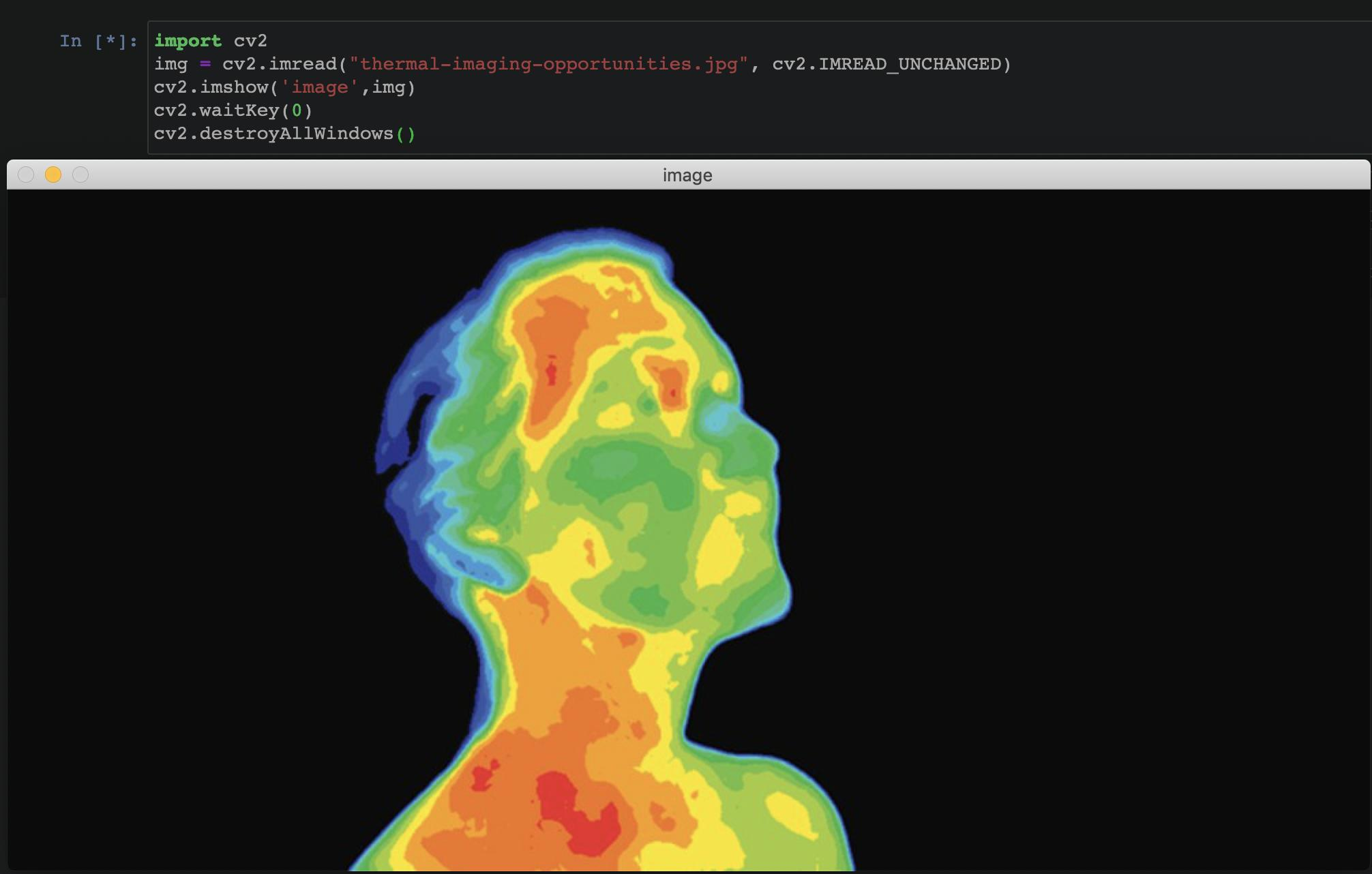 python - viewing a tif image file using OpenCV in Jupyter notebook - Stack Overflow