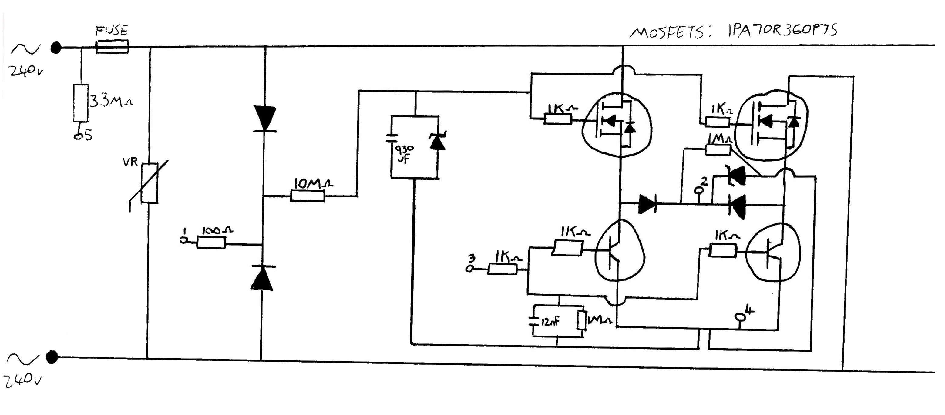 fet wiring diagram