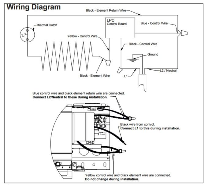 baseboard heat thermostat wiring diagram for 240v  s10