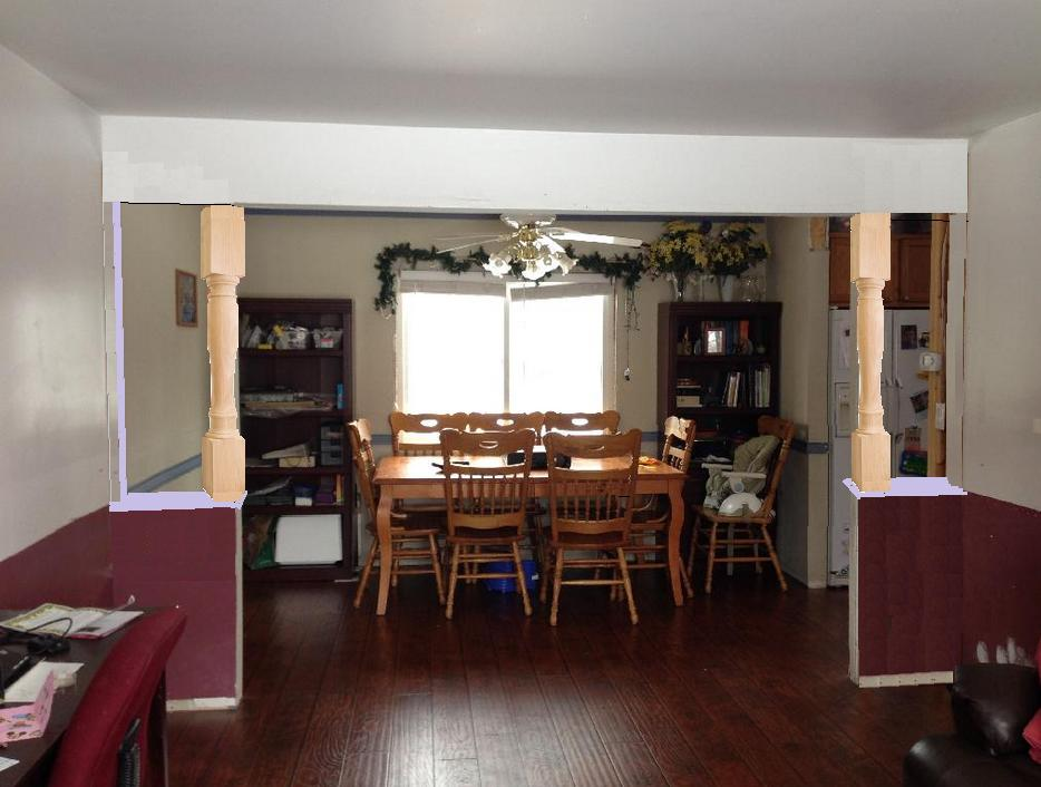 diy living room decorating end tables trim - can i make pvc pipe into a decent indoor column ...