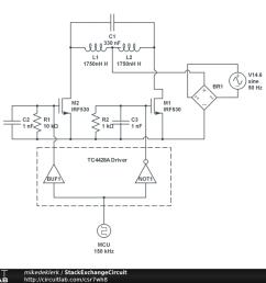 induction heating circuit [ 1024 x 768 Pixel ]