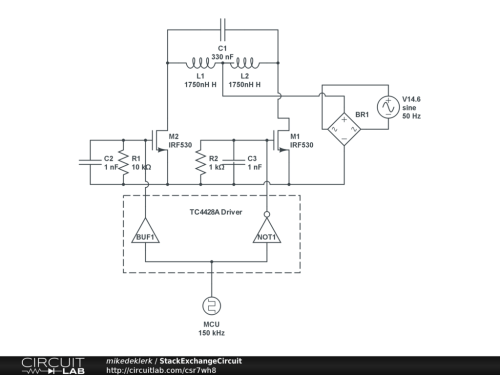 small resolution of induction heating circuit
