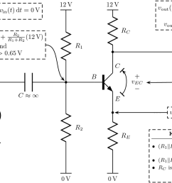 how do you calculate the voltage output of a common emitter amplifier [ 1280 x 777 Pixel ]