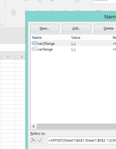 Start and end in cells also set excel chart data series range dynamically by  cell   value rh stackoverflow