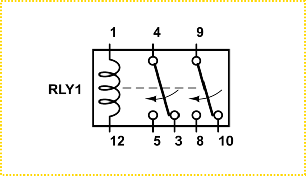 11 Pin Latching Relay Wiring Diagram Item # 711XBXCL 24A
