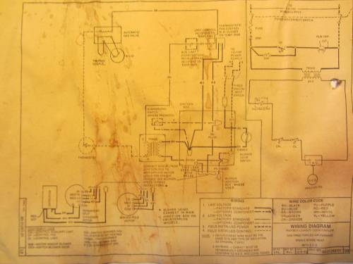 small resolution of hvac add a c wire to 25 year old rheem furnace home improvement rheem home ac wiring diagram