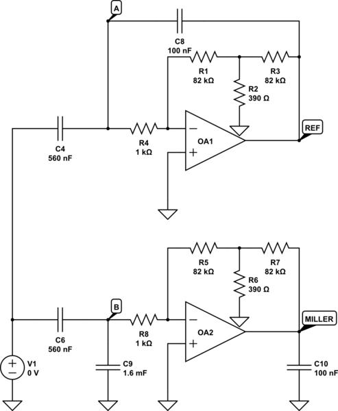 op amp opamp voltage divider electrical engineering stack