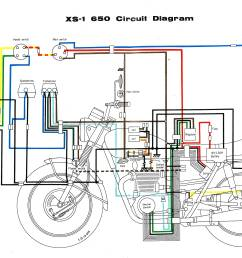 1978 xs650 wiring diagram schematic wiring diagram third level rh 15 18 14 jacobwinterstein com 1977 triumph bonneville 1972 yamaha xs650 [ 3675 x 2432 Pixel ]