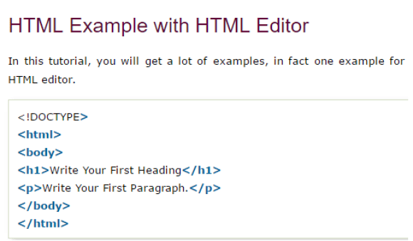 Image result for html code