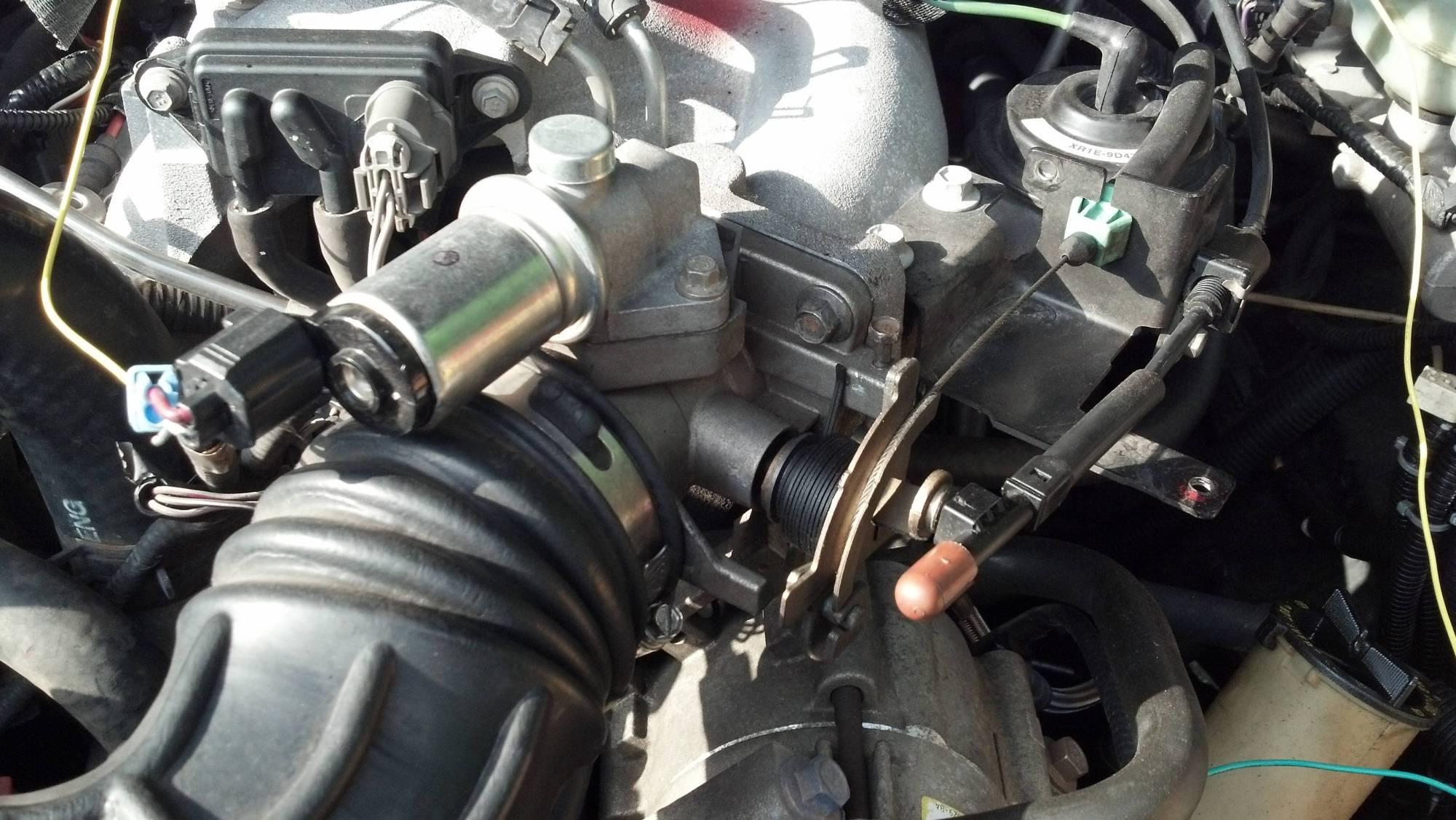 hight resolution of throttle body