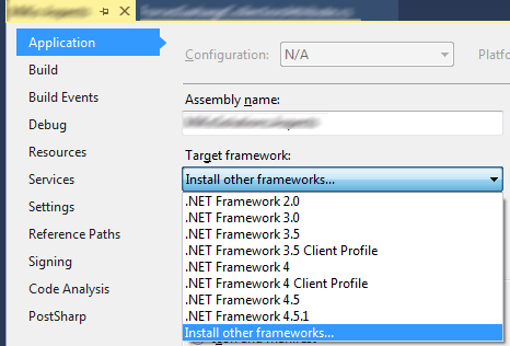 c# - Targeting pack for .NET 4.5.2 not installed - Stack Overflow