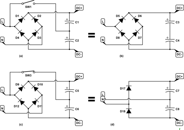 Why do some SMPS power supplies require an input voltage